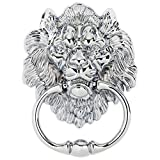 Hartleys Chrome Lion Furniture Knocker Handle
