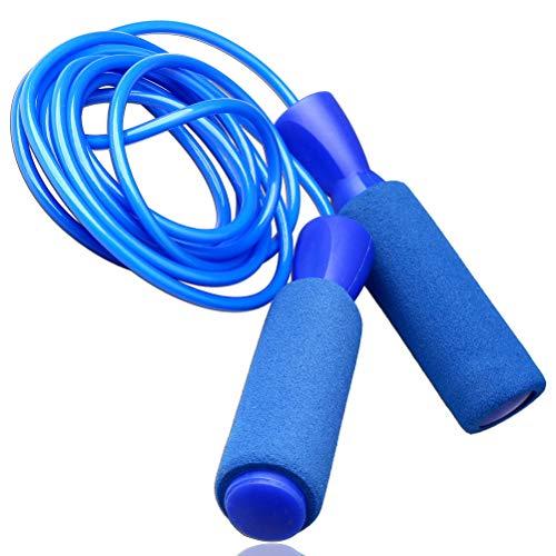 Zhiye Springseil Speed Jump, Memory-Schaumstoff-Griff, verhedderungsfrei, verstellbares Seil,...