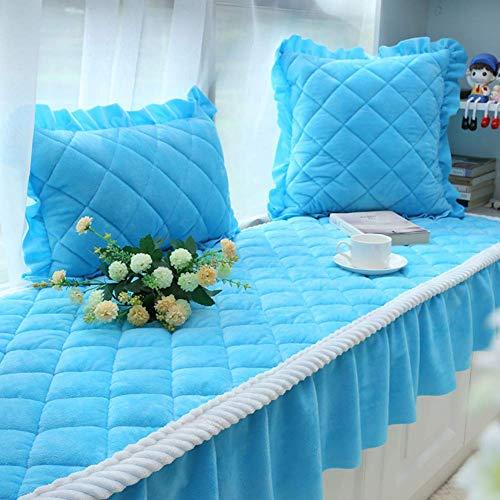 IUYJVR Verdickte Erker Schweller Pad Tatami Fußmatten, universelle rutschfeste Sofakissen Sitzbank Matte Sofamatte Teppich Erker Kissen-a-60x180cm (24x71inch)