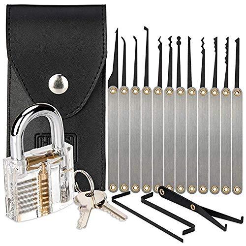 mayyou 16 piece lock pick