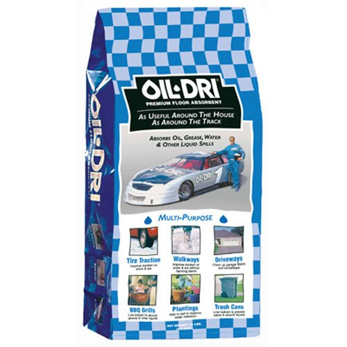 Oil-Dri I01008-G78 Automotive Multi- Purpose Premium Absorbent, 8 lbs Paper Bag