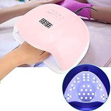 UV LED Nail Lamp, 120W Professional LED UV Gel Nail Polish Dryer Lamp with 4 Timer Setting Fashion Nail Curing Machine(2#)