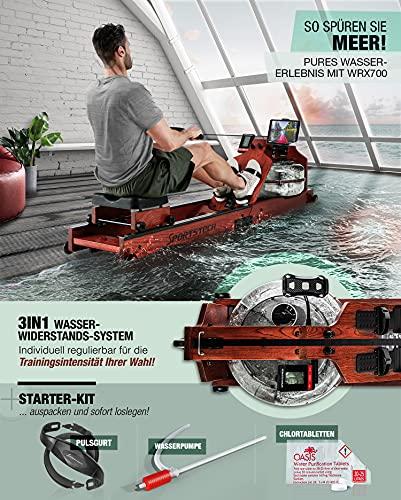 Sportstech WRX700 Wasser Rudergerät - 3