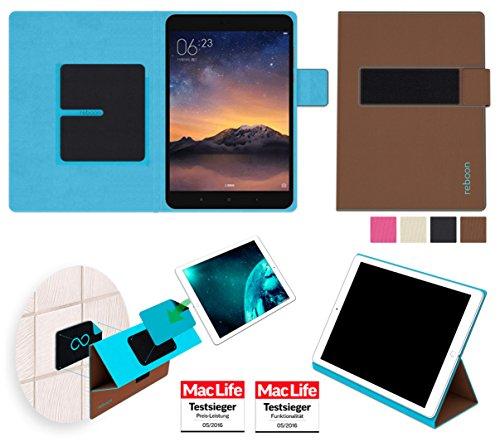 Hülle für Xiaomi Mi Pad 2 Tasche Cover Hülle Bumper | in Braun | Testsieger