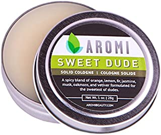 Sweet Dude Solid Cologne   Vegan and Cruelty-free - Men's Fragrance - 1 oz