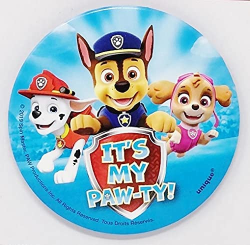 Denver Mall Paw Patrol It's My Paw-ty 2.75 Birthday Inches 2021 model Button Party