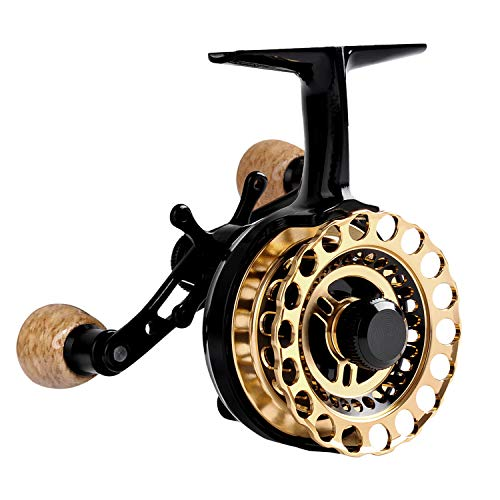Fiblink Inline Ice Fishing Reel Right/Left Handed Fishing...