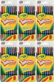 Crayola Twistable Crayons 8 In A Pack (Pack of 6) 48 Crayons Total