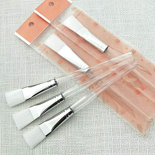 MPKHNM Cristal transparent tige masque brosse DIY beauté maquillage brosse douce soins des cheveux beauté acheter 200 obtenir 60