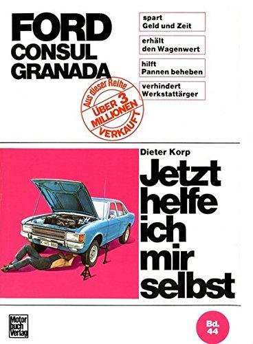 Ford Consul, Ford Granada bis August 1977.