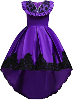purple pageant dress