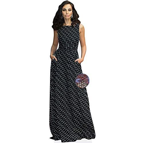 Celebrity Cutouts Madalina Ghenea (Long Dress) Taille Mini
