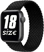 Fengyiyuda Bracelet Compatible Apple Watch 38 mm 40 mm 42 mm 44 mm, Bracelet de Remplacement Sport en Silicone Souple...