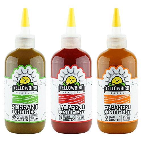 Yellowbird Hot Sauce Combo
