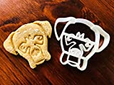 Tyson the Boxer Cookie Cutter and Dog Treat Cutter - Dog Face