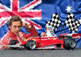 The Shizzle Print Co Niki Lauda Formel 1 Racing Collection