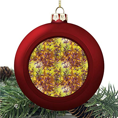 aosup Yellow Sage Brown/Christmas Ball Ornaments 2020 Christmas Pendant Personalized Creative Christmas Decorative Hanging Ornaments Christmas Tree Ornament №AM034924