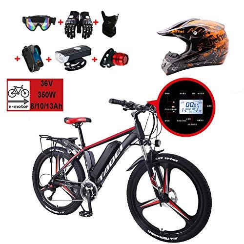 WHYTT 36V10AH Eléctrico Bicicleta Plegable MTB Viajeros MTB Bicicleta De Montaña Freno...