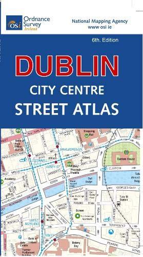 Dublin City Centre Street Atlas (Pocket) (O S Ireland Street Atlas)