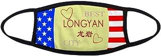 China Inland City Longyan Mouth Mask Warmer Anti Dust Stars Stripes Flag
