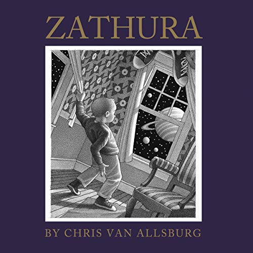Zathura audiobook cover art