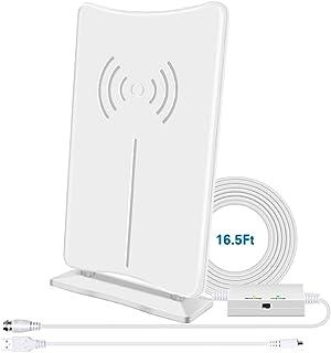 Digital HD TV Antenna, CIYOYO Indoor HDTV Antenna 160 Miles Long- Range Reception with..