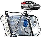 STARKIT PERFORMANCE Mécanisme lève vitre électrique Avant Droit Passager avec Panneau pour Volkswagen Golf 4 et Bora de 1997 à 2006.