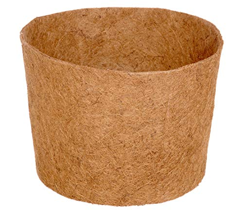 Dehner Maceta Accesorio, diámetro de 45cm, Altura 34cm, Fibra de Coco, Natural Cacerola,...