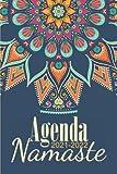 Agenda Mandala 2021 2022 Namaste: Agenda 2021 2022 Mandala à Colorier Semainier Illustré Personnalisable Planificateur Journalier Petit Format de ... Idée Cadeau Femme Fille Homme Hindou 01
