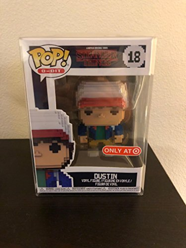 Funko 8-Bit POP! Stranger Things: Dustin Exclusivo