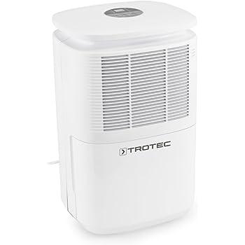 TROTEC TTK 30 E Komfort Luftentfeuchter (max.12 L/Tag), geeignet für Räume bis 37 m³ / 15 m²