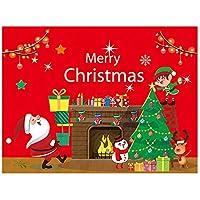 クリスマスホリデーデコレーション用品のクリスマスハンギングフラグシーン設定(タイプ3)