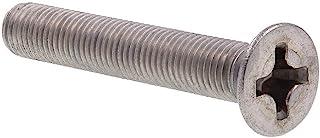 Pan Phillips Drive Full Thread Aspen Fasteners AISI 304 Stainless Steel 18-8 125pcs Machine Screws #0-80 X 3//16