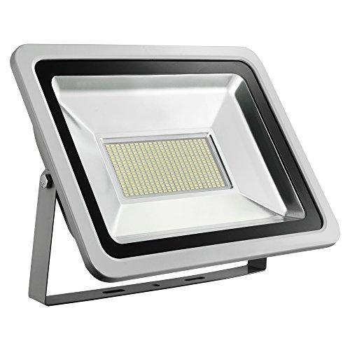 LED-spot 10 W, 20 W, 30 W, 50 W, 150 W, 300 W, koud wit 6500 K, LED-buitenspot, LED-schijnwerper, LED-lamp voor buiten, decoratieve verlichting, IP65 ES-D4PT200W220V