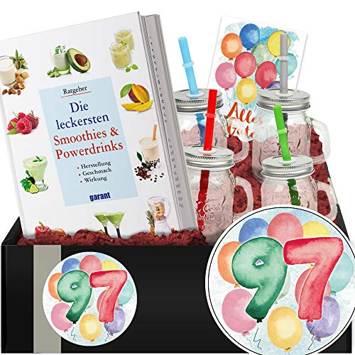 Geschenkidee 97. Jubiläum - Geschenkbox Gesundheit - Geschenk 97. Geburtstag