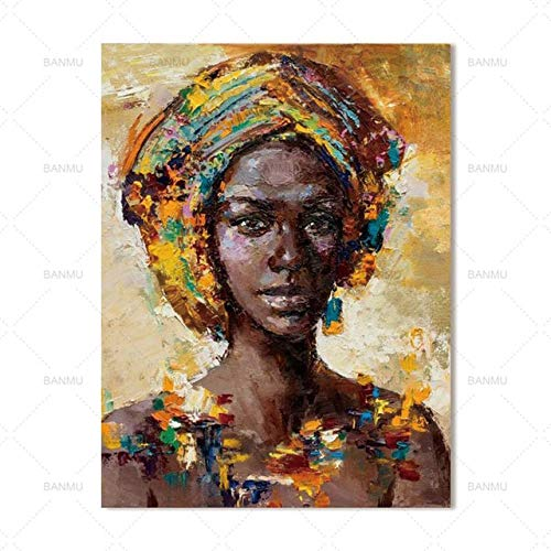 tzxdbh Wall Art Picture Canvas Schilderij Moderne home decor Muurkunst kleurrijke figuren Wall Picture print voor woonkamer Art Decorations wp0625 50x70cmx1pc No Frame