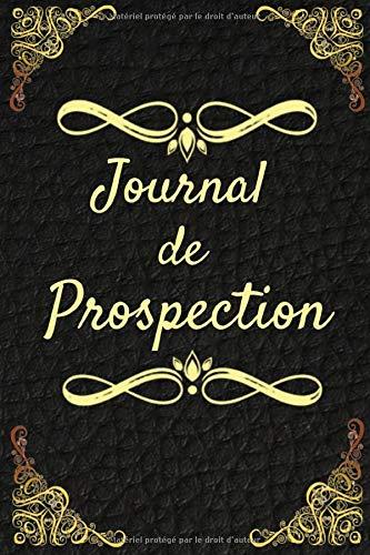Journal de Prospection: Journal de prospection | Détection de métaux | Pour les passionnés d'Histoire, de trouvaille, de pièces | Carnet pratique avec fiches, 121 pages, 6 x 9 pouces |