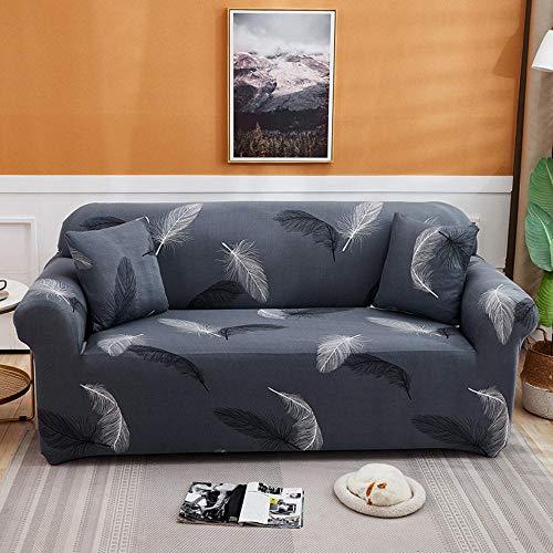LYXGSSM High Elastic Sofa Cover, Waterproof Furniture Protector, Sofa Cover, Fur Cushion, Easy to Wear Elastic Fabric Sofa Protector, Three Seater,Kp-02,3 Seater