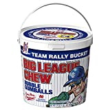 Big League Chew - Original Bubble Gum Flavor + 80pcs Individually Wrapped Gumballs + For Games, Concessions, Picnics & Parties