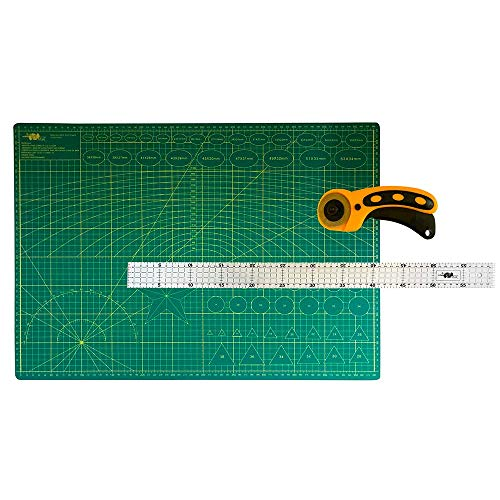 Kit Base De Corte A2 45x60 + Cortador Manual 45m Régua 5x60