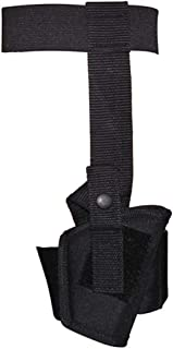 Small 00 Ankle Holster Concealed Carry Pistol Handgun .22 .25 .380 Back Up Black