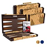 Get The Games Out Top Backgammon Set - Classic Board Game Case - Best Strategy &...