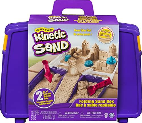 Kinetic Sand, Folding Sand Box...