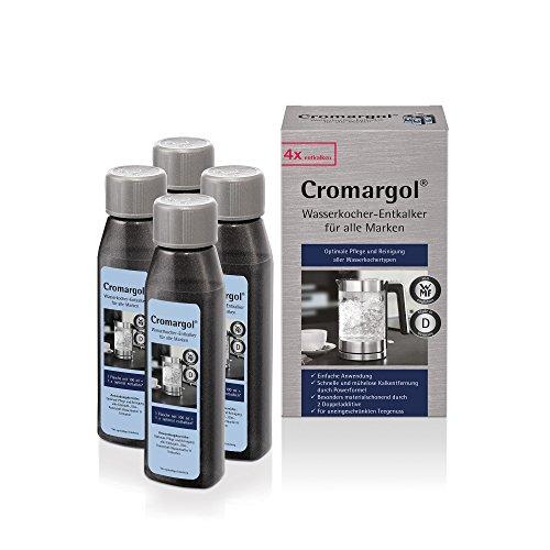 WMF ontkalker Cromargol waterkoker-ontkalker kalkreiniger 4-pack voor alle waterkokers 4x100 ml kalkloos