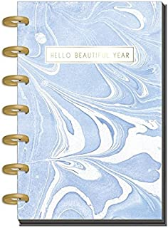 me & my BIG ideas Create 365 The Happy Planner Mini, Modern Marble (Horizontal), 12 Month Undated