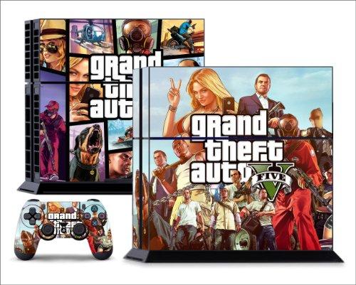 GTA 5. PS4 SKIN.Vertical