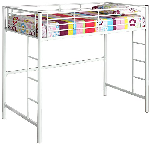 Home Accent Furnishings Sunrise Twin Over Loft Metal Bunk...