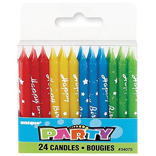 Verjaardag kaars partij benodigdheden Script Kaarsen Multi kleuren