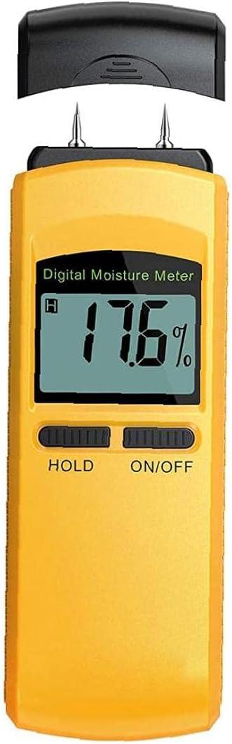 NIDONE Moisture Tester Digital Moisture Meter Damp Detector Humi