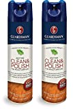 Guardsman Clean & Polish For Wood Furniture - Woodland Fresh - 12.5 oz - Silicone Free, UV Protection (2)